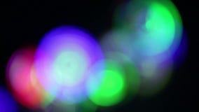 蓝色和绿灯 股票录像