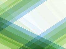 蓝色和绿线几何抽象背景 免版税库存图片