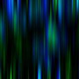 蓝色和绿色神奇抽象背景 库存例证