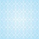 蓝色哥特式无缝的墙纸 免版税库存照片