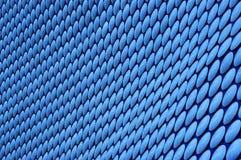 蓝色圈子模式 免版税库存照片