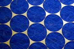 蓝色圈子 免版税库存图片