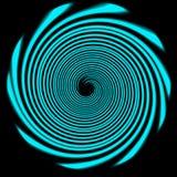蓝色圈子 库存图片