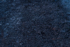 蓝色土壤纹理背景 库存照片