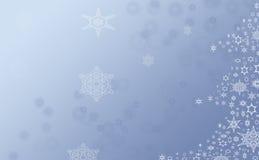 蓝色圣诞树 皇族释放例证