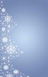 蓝色圣诞树 向量例证