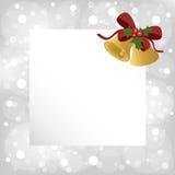 蓝色圣诞节框架魔术 库存图片