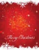 蓝色圣诞节框架魔术 免版税库存图片