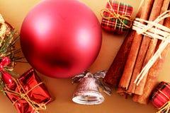 蓝色圣诞节花例证装饰品影子 免版税图库摄影