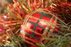 蓝色圣诞节花例证装饰品影子 库存图片