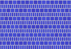 蓝色地垫 免版税图库摄影