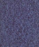 蓝色地毯纹理 免版税库存图片