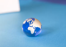 蓝色地球 库存图片