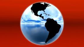 蓝色地球 免版税库存图片