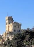 蓝色城堡 图库摄影