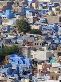 蓝色城市乔德普尔城 库存照片