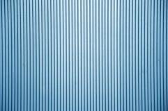 蓝色塑料墙壁纹理 图库摄影