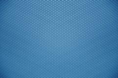 蓝色塑料墙壁纹理 免版税库存照片