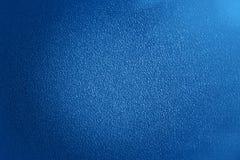 蓝色塑料材料无缝的背景和纹理 免版税库存图片