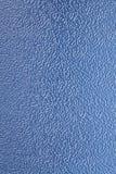 蓝色塑料纹理背景 免版税库存图片