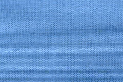 蓝色墙壁由背景和纹理的砖制成 库存图片