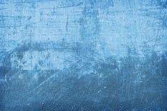 蓝色墙壁纹理 免版税库存图片
