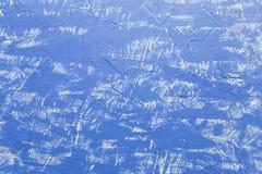 蓝色墙壁背景 水平 库存图片