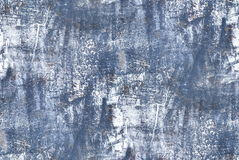 蓝色墙壁-无缝的难看的东西背景 免版税图库摄影