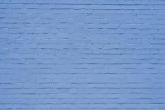 蓝色墙壁 库存图片