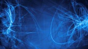 蓝色外籍人空间作综合抽象背景 免版税库存图片
