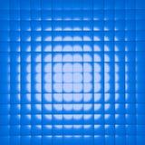 蓝色多维数据集 免版税图库摄影
