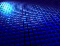 蓝色多维数据集 皇族释放例证