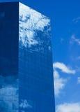 蓝色大厦办公室 免版税库存图片