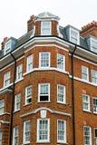 蓝色大厦房子住宅天空 免版税图库摄影