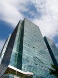 蓝色大厦现代办公室天空 图库摄影