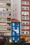 蓝色大厦 免版税库存图片
