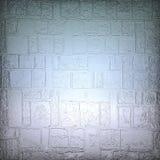 蓝色大块玻璃墙壁 设计要素例证图象向量 库存图片