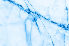 蓝色大理石样式摘要背景 免版税库存照片