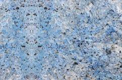 蓝色大理石石头 图库摄影