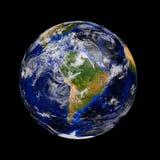 蓝色大理石行星地球 免版税库存照片