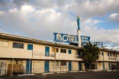 蓝色天使汽车旅馆 免版税图库摄影