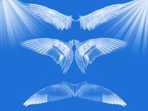 蓝色天堂 向量例证