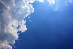 蓝色天堂 库存图片
