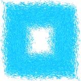 蓝色天蓝色的框架漩涡摘要背景 免版税图库摄影