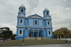 蓝色天主教 库存图片