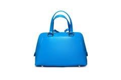 蓝色女性袋子1 免版税图库摄影