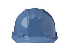 蓝色安全帽 库存图片