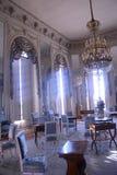 蓝色室在Trianon,凡尔赛 免版税图库摄影