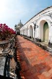 蓝色宫殿phetburi天空 免版税图库摄影