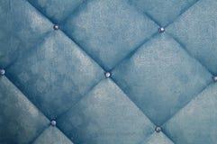 蓝色家具 免版税库存图片